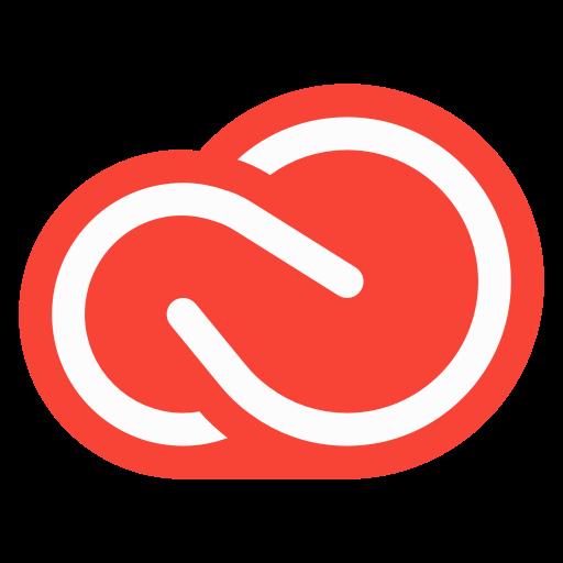 Adobe, Cc, Cloud, Creative, Creativecloud Icon