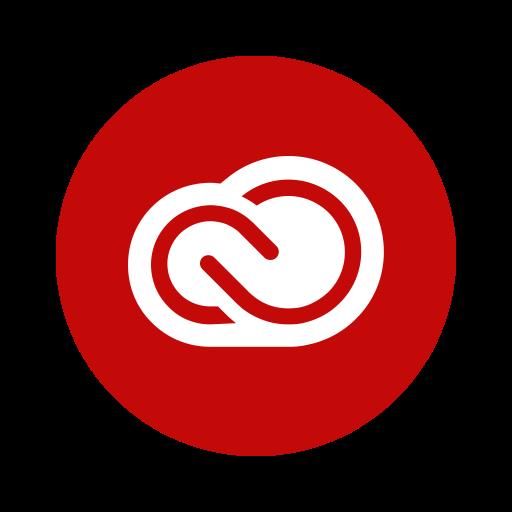 Adobe, Cc, Creativecloud, Library, Portfolio, Program, Software Icon