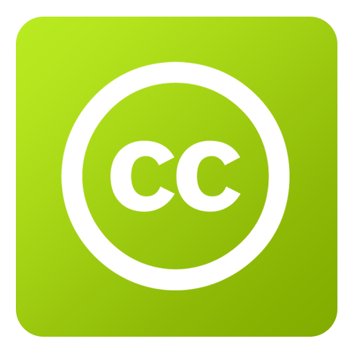 Creative Commons Icon Flat Gradient Social Iconset Limav