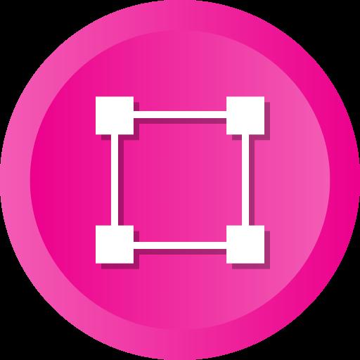 Abstract, Crop, Tool, Creative, Design, Hexagon Icon Free Of Ios