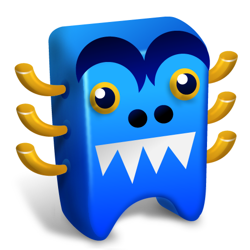 Blue Creature Icon Creatures Iconset Fast Icon Design