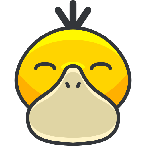 Creature, Character, Psyduck Icon
