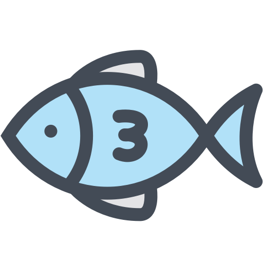 Fish, Fishing, Food, Sea, Sea Creature Icon