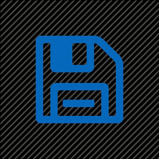 Floppy, Guardar, Save, Saved Icon
