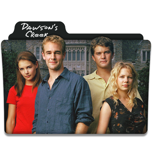 Dawson's Creek Tv Series Folder Icon