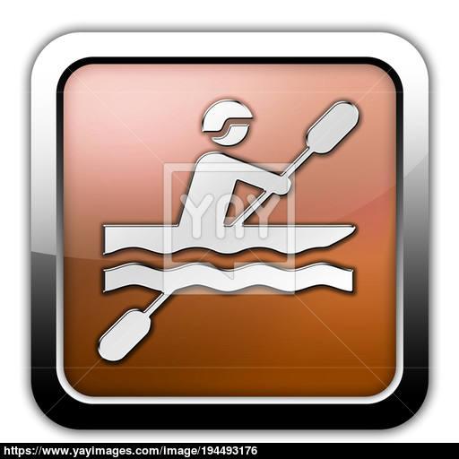 Icon, Button, Pictogram Kayaking Image