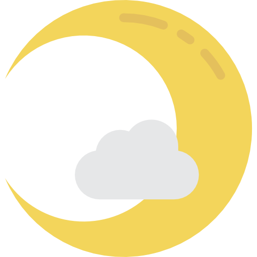 Crescent Moon Icon Halloween Smashicons