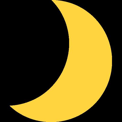 Crescent Moon Emoji For Facebook, Email Sms Id Emoji