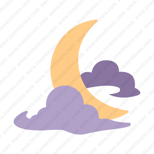 Download Crescent,moon Icon Inventicons