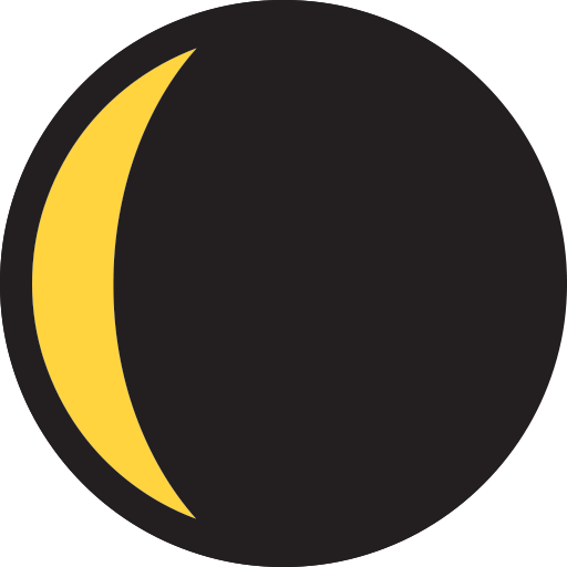 Waning Crescent Moon Symbol Emoji For Facebook, Email Sms Id