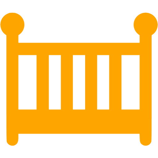 Orange Crib Icon