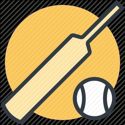 Ball, Bat, Cricket Bat, Cricket Equipment, Game, Sports, Sports