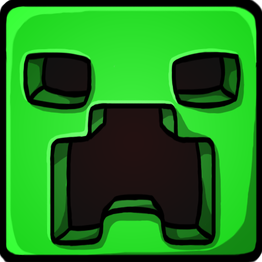 Free Miecraft Creeper Icon Healthy Eating