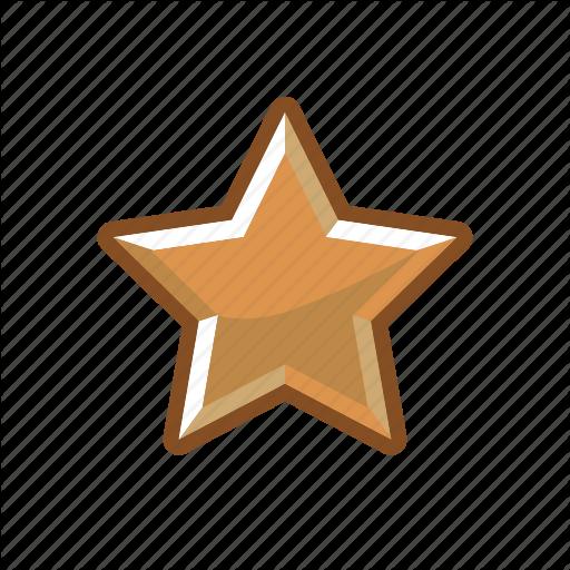 Bronze, Mark, Rank, Star Icon