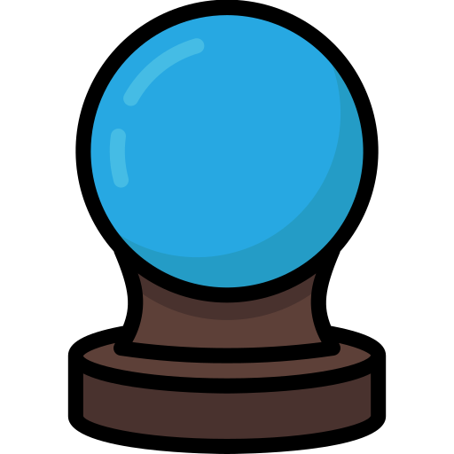 Harry, Potter, Crystal, Ball Icon Free Of Harry Potter Colour