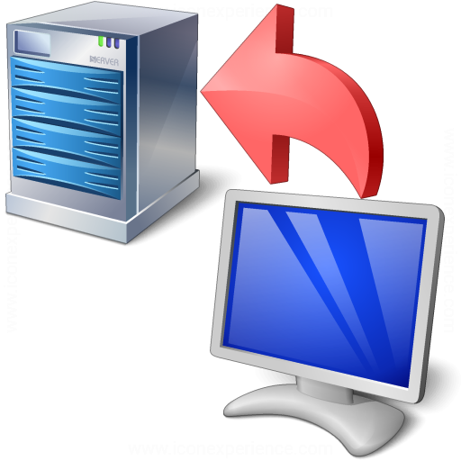 Iconexperience V Collection Server From Client Critical Icon