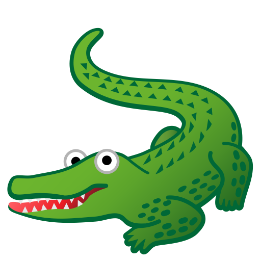 Crocodile Icon Noto Emoji Animals Nature Iconset Google