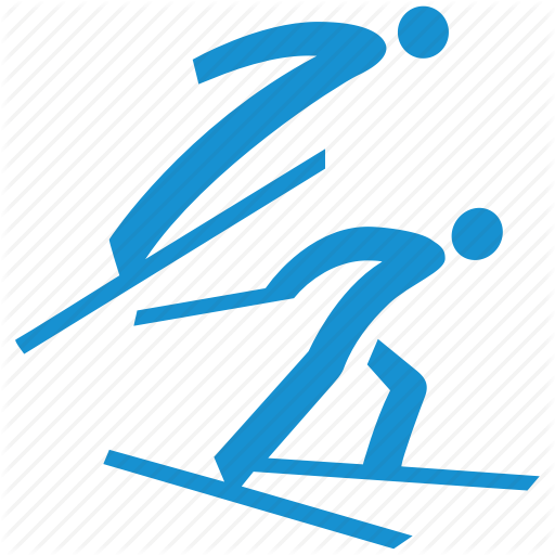 Combined, Cross Country Skiing, Nordic, Ski, Ski Jumping, Skiing Icon