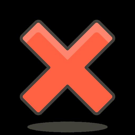 Cross, Mark Icon Free Of Free Vector Emoji