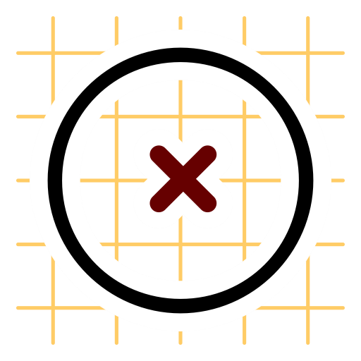 Focus, Targeting, Symbol, Cross, Target, Interface, Abstract Icon