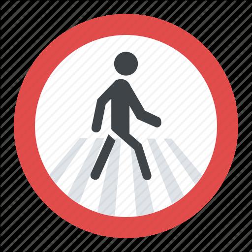 Pedestrian Crossing Sign, Pedestrian Crosswalk Sign, Pedestrian