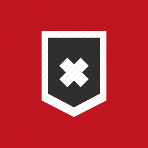 Crossword, Guard, Protection, Shield Icon