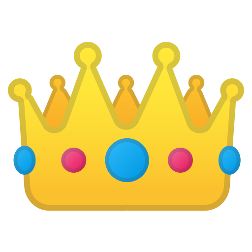 Crown Icon Noto Emoji Clothing Objects Iconset Google