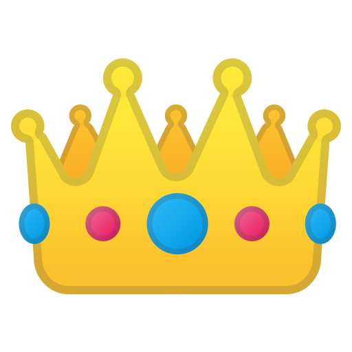 Crown Icon Free Of Noto Emoji Clothing Objects