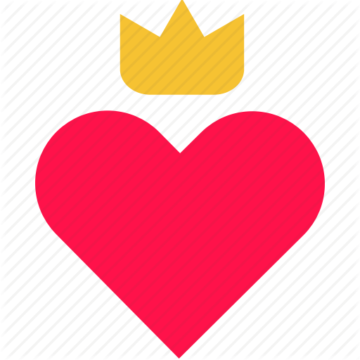 Heart Icons Crown