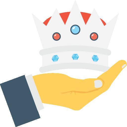 Crown Icon Business Vectors Market