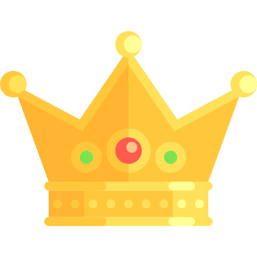 Royalty, Chess Piece, Miscellaneous, King, Crown, Queen Icon