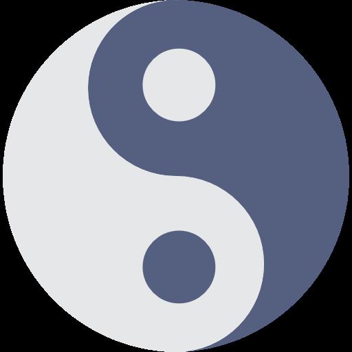 Philosophy, Balance, Signs, Yin Yang, Taoism, Religion Icon