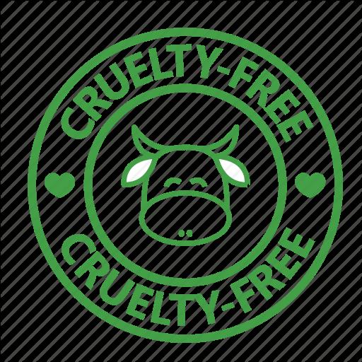 Animal Testing, Cow, Cruelty, Free, St Vegan, Vegetarian Icon