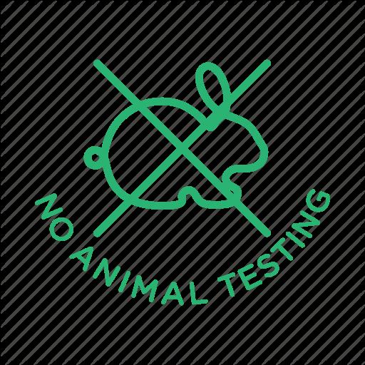 Cruelty Free, No Animal Testing, No Testing, Strikethrough Icon