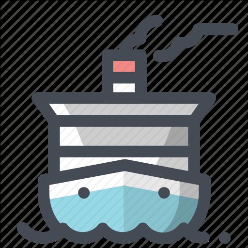 Boat, Cruise, Cruise Ship, Marine Life, Ocean, Sea, Ship Icon