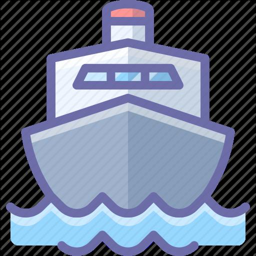 Boat, Cruise, Ship, Transport Icon