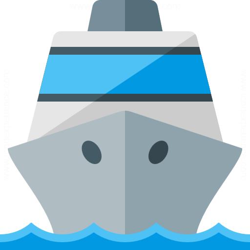Iconexperience G Collection Cruise Ship Icon