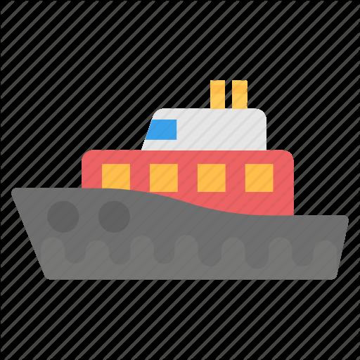 Cruise Liner, Cruise Ship, Luxury Cruise Liner, Luxury Ship, Ship Icon
