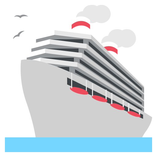 Passenger Ship Emoji Vector Icon Free Download Vector Logos Art