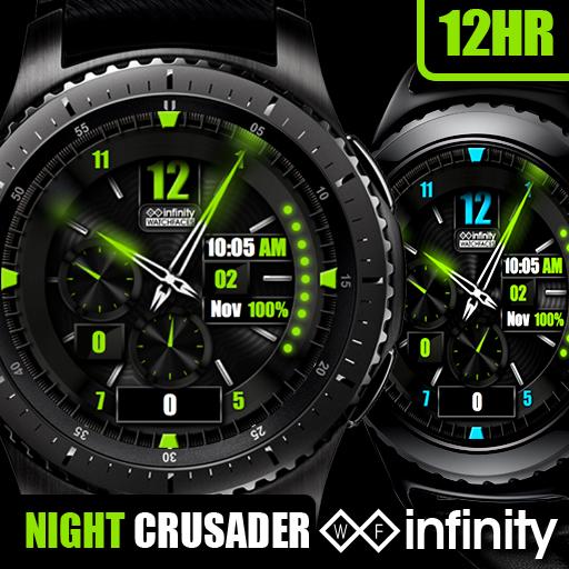 Night Crusader Watch Face Gear Gear Iconb