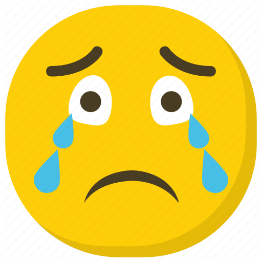 Crying Emoji, Emoji, Emoticon, Expressions, Smiley Icon