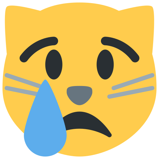 Crying Cat Face Emoji Meaning With Pictures From A To Z