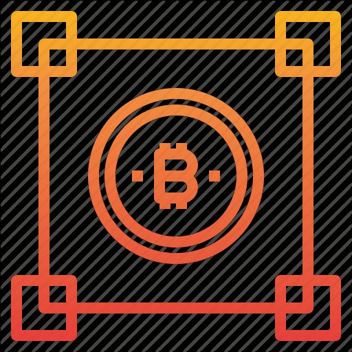 Bitcoin, Blockchain, Cryptocurrency, Money Icon