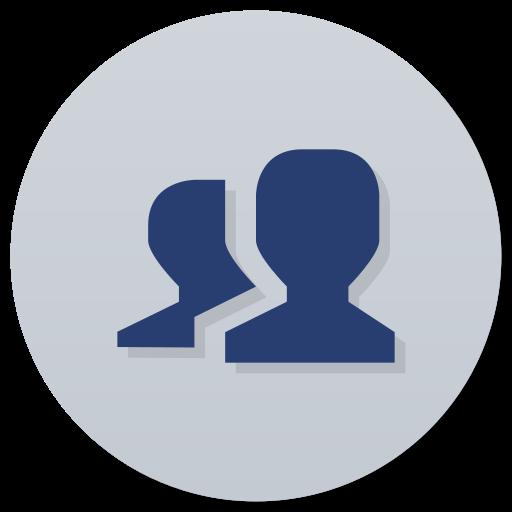 Cs, User, Accounts Icon Free Of Super Flat Remix Apps