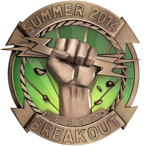 Operation Breakout Challenge Coin