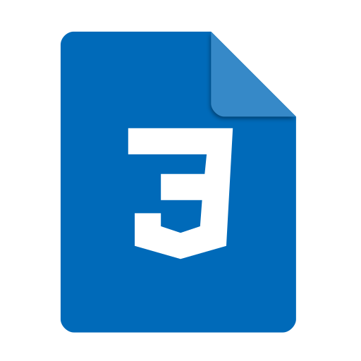 Text, Css Icon Free Of Super Flat Remix Mimetypes