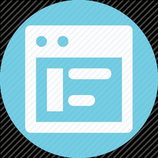 Alignement, Css, Stylesheet Alignement, Web Alignement Icon
