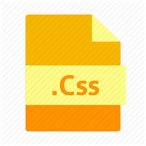 Css, Css Icon, Document, File, Format, Name, Orange Color Icon