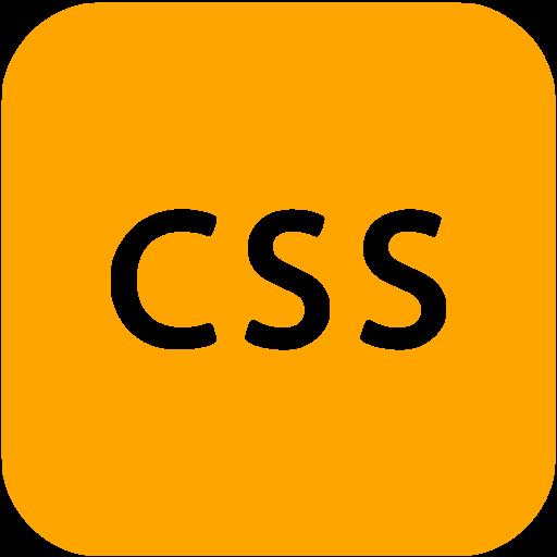 Orange Css Icon