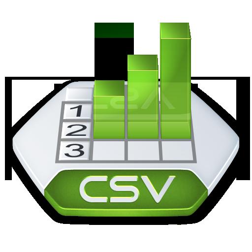 Ms Excel Csv Icon